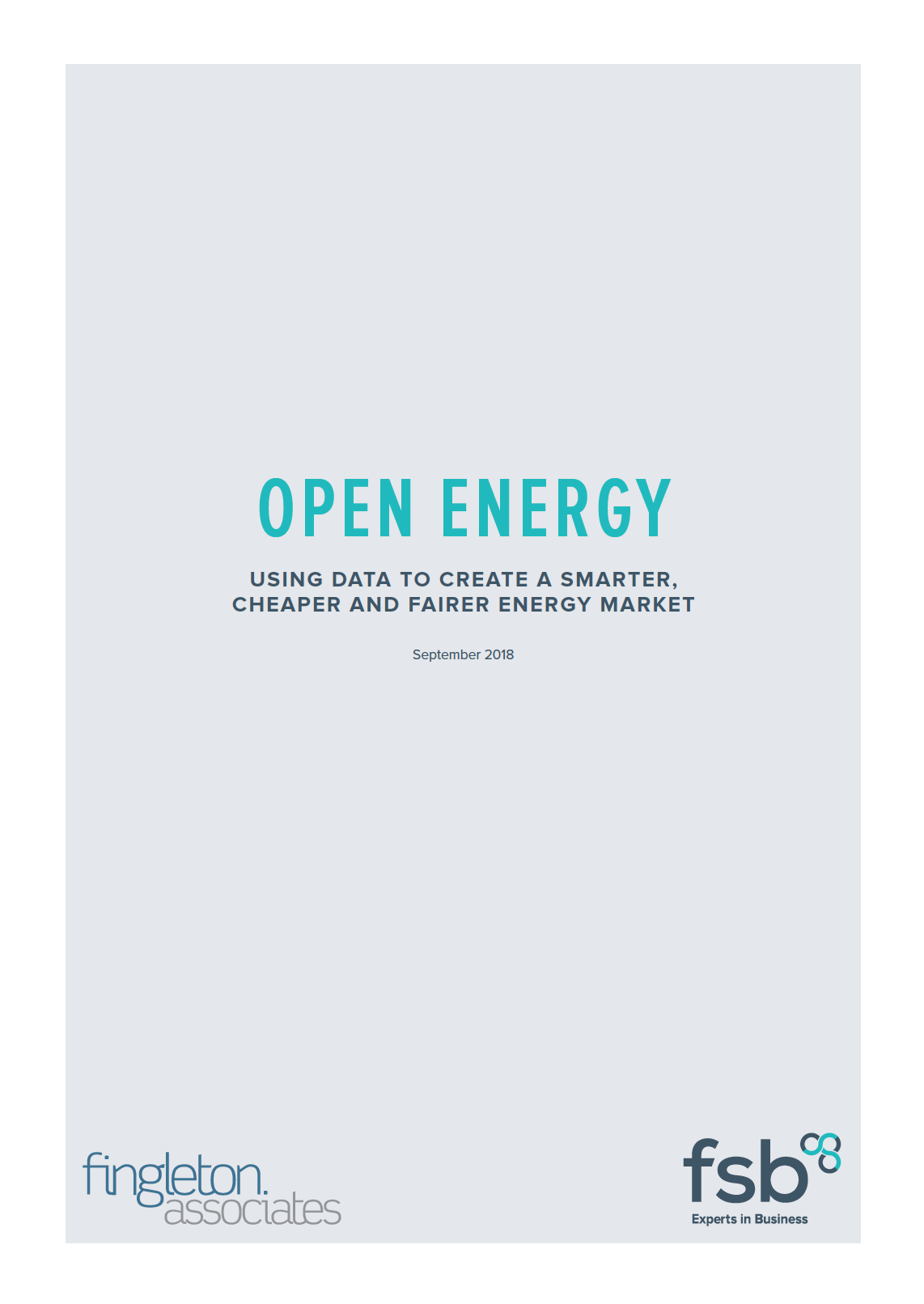 FSB - FA - Open Energy Report Cover